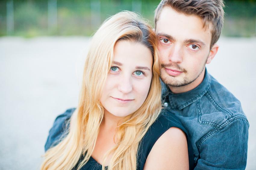 Malin & Leo - Parfotografering, Borlänge, Dalarna - Elsa Wiliow Photography